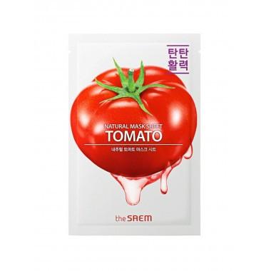 Тканевая маска с экстрактом томата The Saem Natural Tomato Mask Sheet