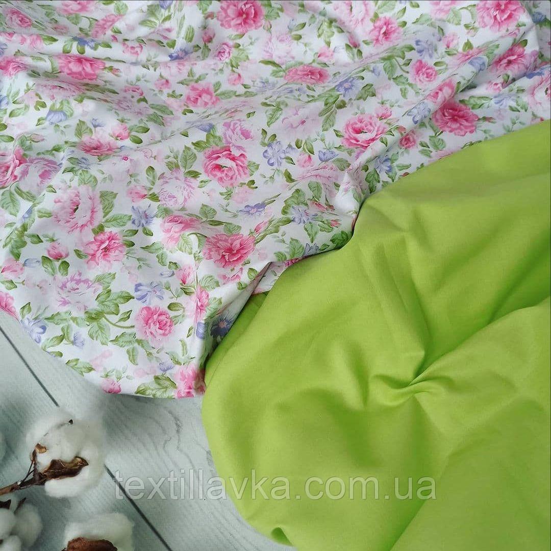 Набор хлопковой ткани для рукоделия  из 2-х штук
