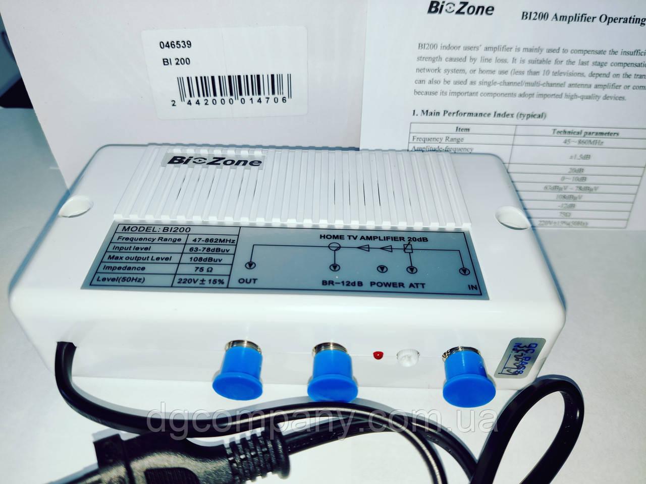 Підсилювач ТВ сигналу Bi-Zone Bi200