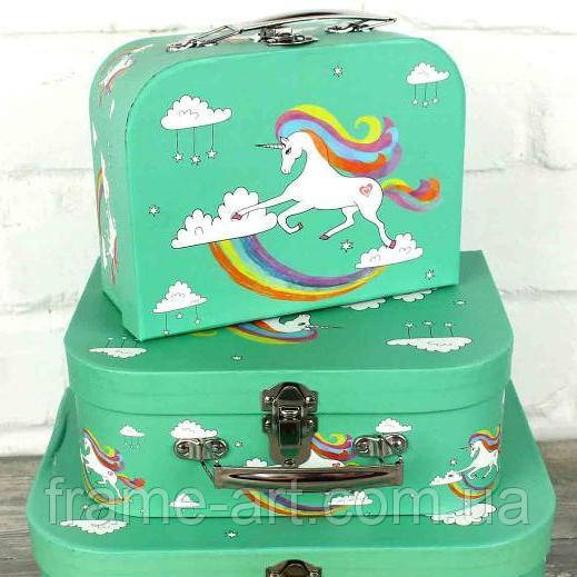 Подарочная коробка, чемоданчик 22349-6 Единорог