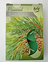 Свечка-таблетка с запахом №462-21 сосновый лес