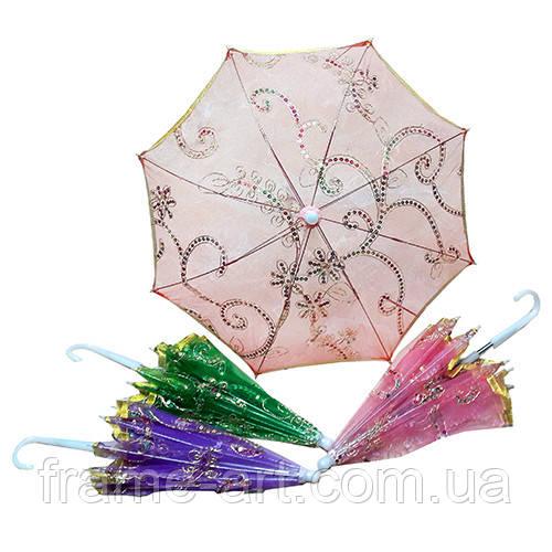Зонтик декоративный QR830 розовый