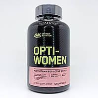 Витамины женские Оригинал США! Optimum Nutrition Opti Women 120 кап.