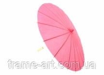 Зонтик декоративный 20см розовый 5-21376