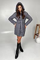 Короткое женское пальто без меха Анита 9936