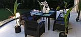 Комплект садових меблів Allibert by Keter Corfu Fiesta Max Lounge Set, фото 7
