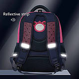 Школьный рюкзак анатомический с пеналом, прочный портфель для мальчика 7, 8, 9, 10 лет (1-4 класс), фото 10