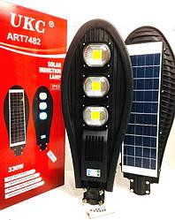 Светильник уличный с солнечной панелью UKC 7482 330W с пультом