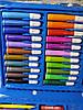 Набор для рисования в чемодане из 86 предметов для детского творчества  Синий! УЦЕНКА, фото 3