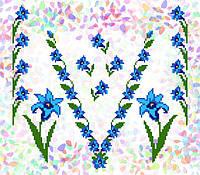 Флизелин водорастворимый с рисунком Арт. 227