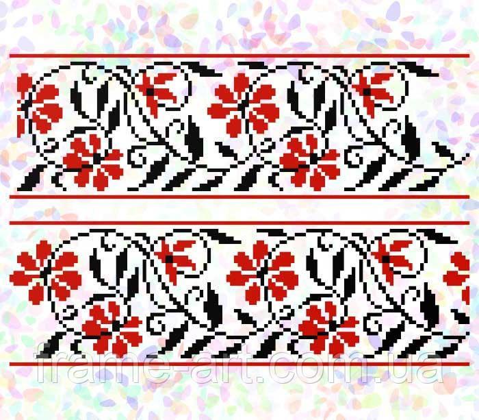 Флизелин водорастворимый с рисунком Арт. 277