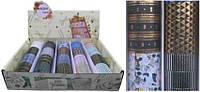 """Скотч декоративний 999-11 """"Візерунки золото-срібло"""", 15мм х300см в коробці уп60"""