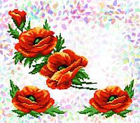 Флизелин водорастворимый с рисунком Арт. 214