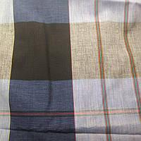 Ткань Хлопок (рубашка) 1,5м полосы (Италия Сток)
