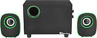 Колонки для ПК компьютера FT-H3 Green (2823), фото 1