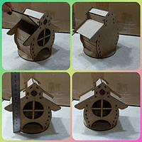 ПА-ЧД-004 Чайный домик Избушка 2  8*12*8см