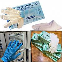 Латексные перчатки с пудрой