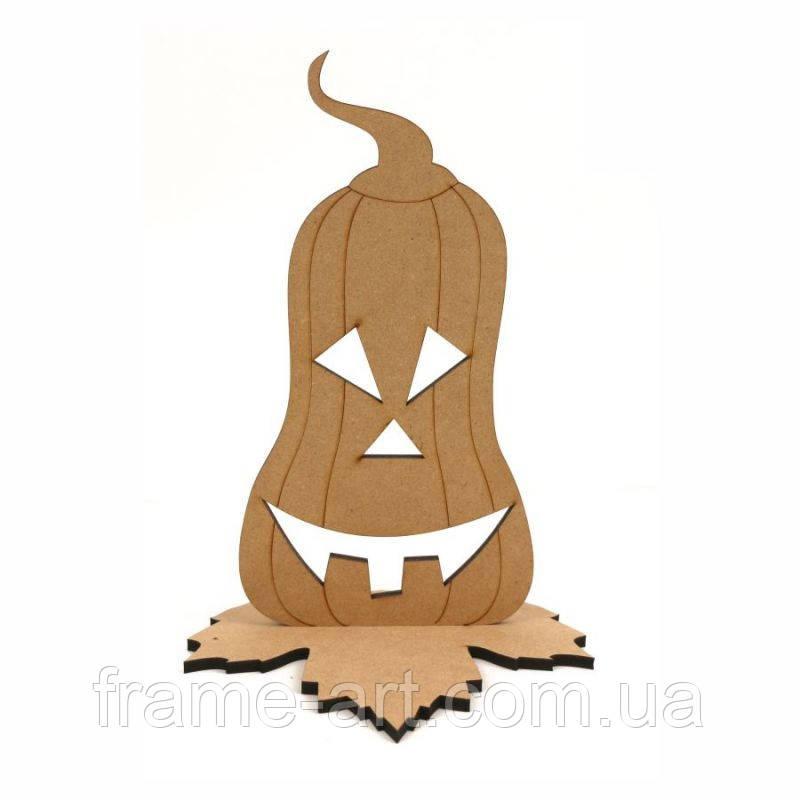 Заготовка Тыква на Хэллоуин-2, 120*18,6*17,5см, МДФ