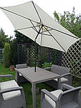 Комплект садових меблів Allibert by Keter Corfu Fiesta Lounge Set Cappuccino ( капучіно ), фото 2