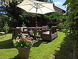 Комплект садових меблів Allibert by Keter Corfu Fiesta Lounge Set Cappuccino ( капучіно ), фото 6