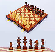 Шахи настільна гра з дерева (30см x 30см)