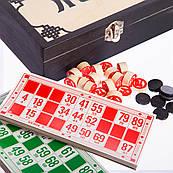 """Настільна гра """"Лото"""" в деревяной коробці"""