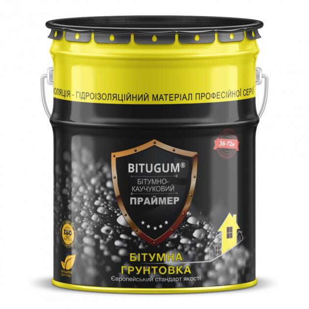 Праймер бітумно-каучуковий Izofast BITUGUM 10 л