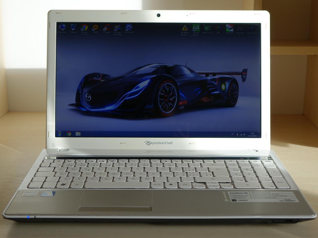 Ноутбук Packard Bell EasyNote NEW95 TM94 15.6 AMD U140/4Ggb/500gb/AMD Radeon HD4210 (TM94-GN-143CH)