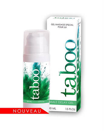 Пролонгирующий гель для мужчин Taboo Delay gel, 30 мл, фото 2