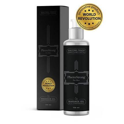 Массажное масло с феромонами PheroStrong for Men, 100 мл , фото 2