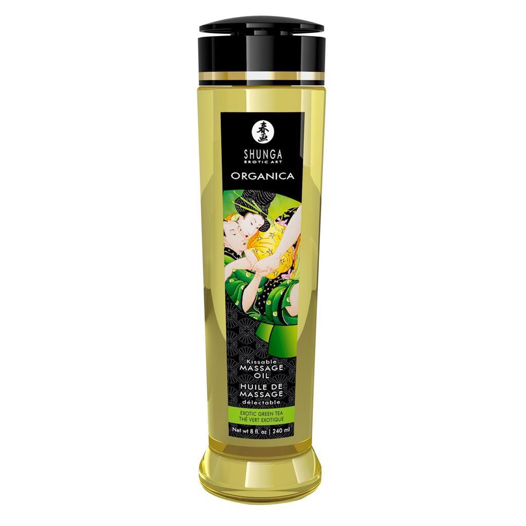 Органическое массажное масло Shunga ORGANICA — Almond Sweetness (240 мл) с витамином Е