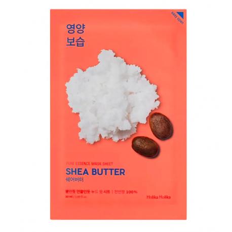 Поживна тканинна маска з маслом ши Holika Holika Essence Pure Mask Sheet Shea Butter