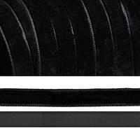 Лента Бархатная 1,0 см №39 черная