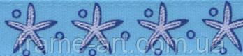 Лента атласная ALР-102 10 мм с рисунком M14/073