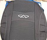 Авточехлы Chery Eastar от 2003- Nika модельный комплект чери еастар, фото 3