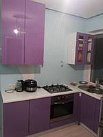 Фиолетовая кухня глянец, фото 1