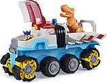 Щенячий патруль Джип моторизованный, Paw Patrol, Dino Rescue Dino Patroller, Spin Master Оригинал из США, фото 2