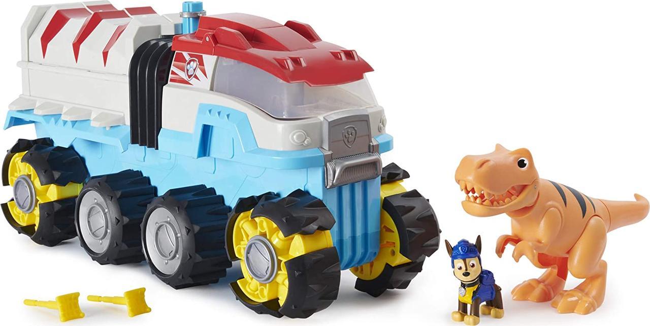 Щенячий патруль Джип моторизованный, Paw Patrol, Dino Rescue Dino Patroller, Spin Master Оригинал из США