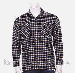 Сорочки чоловічі куртки в клітку теплі. (р50-58)