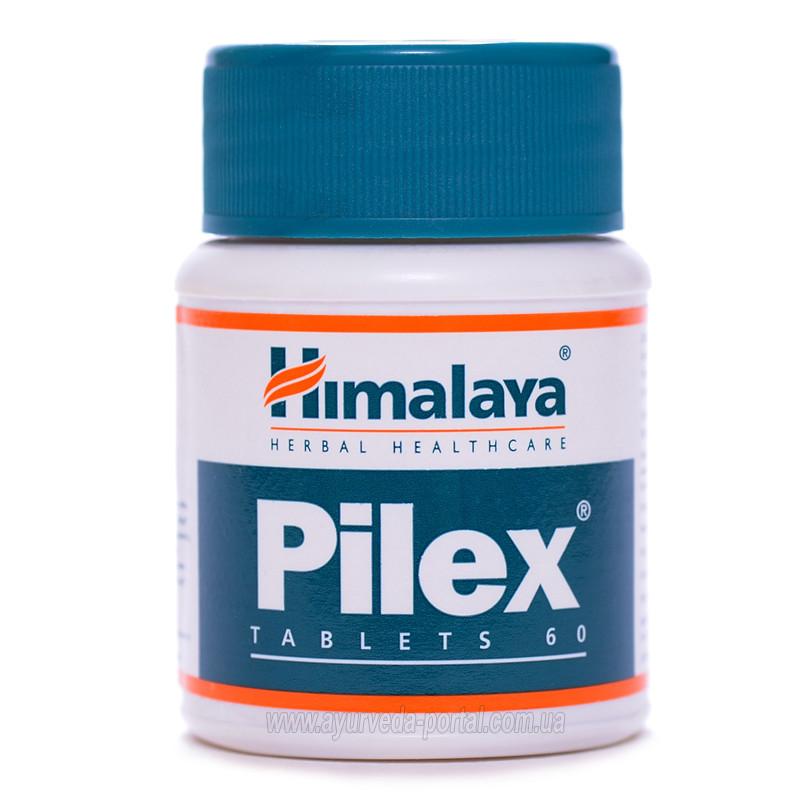 Пайлекс / Pilex - для лечения варикоза и геморроя - Хималая - 60 таб