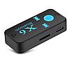 Бездротовий адаптер Bluetooth приймач аудіо ресивер BT-X6 TF card, фото 3