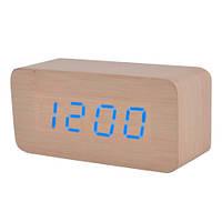 Годинники електронні VST-867-5, термометр, будильник, календар, дерево