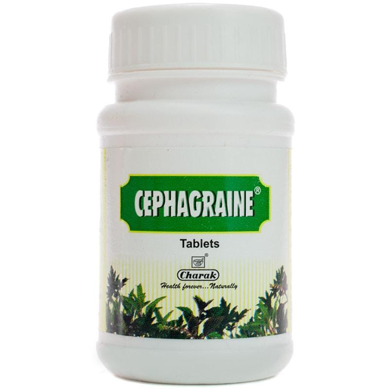 Сефаграин / Cephagraine - синусит, мігрень, застійні явища - Чарак - 40 таб