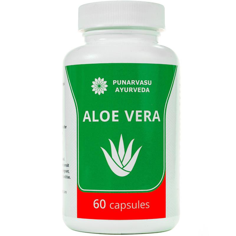 Алое вера плюс / Aloe vera - для омоложения, укрепления иммунитета, противовоспалительное - Пунарвасу - 60