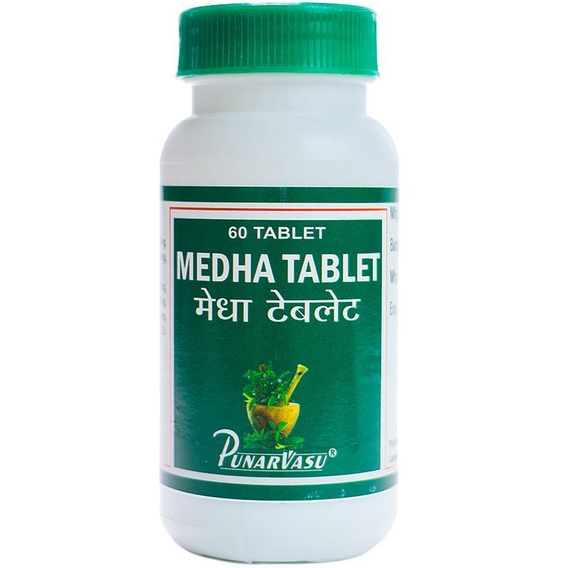 Медха / Medha - улучшение памяти и восстановление здоровья нервной системы - Пунарвасу - 60 таб