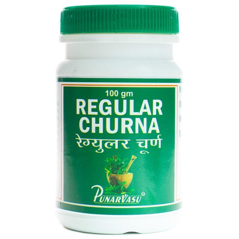 Регулар чурна / Regular churna - улучшение работы кишечника - Пунарвасу - 100 гр