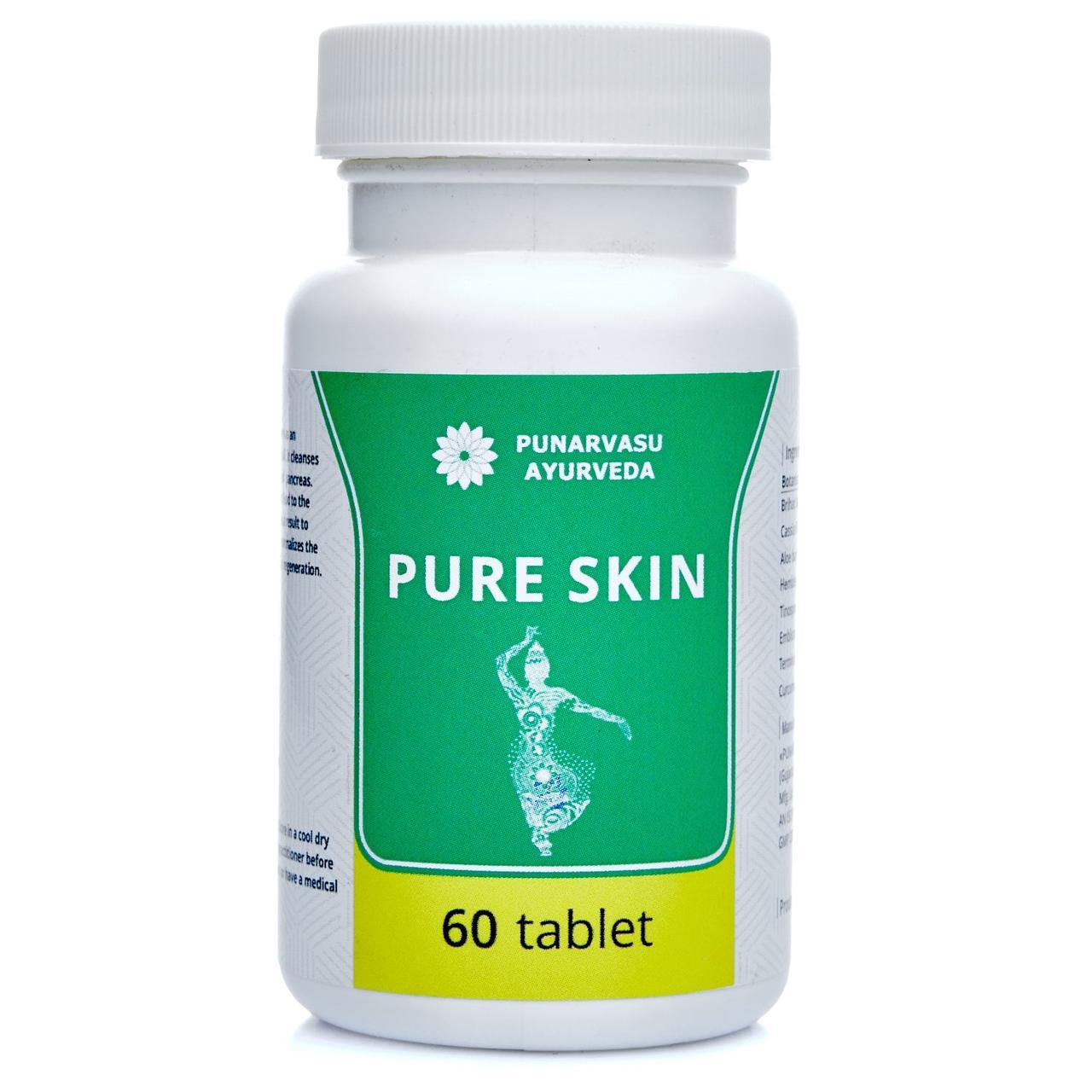 Чистая кожа / Pure skin - для чистой и здоровой кожи - Пунарвасу - 60 таб