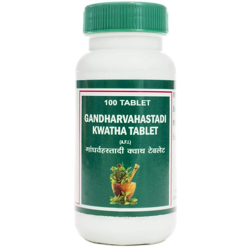 Гандхарвахастади кватха / Gandharvahastadi kwatha - слабое пищеварение, заболевания суставов - Пунарвасу - 100