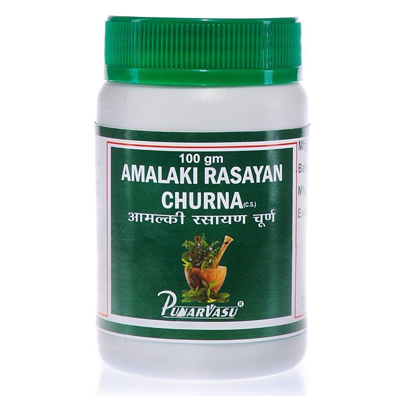 Амалакі расаяна чурна / Amalaki rasayana churna - омолодження, підвищення імунітету, поліпшення зору -