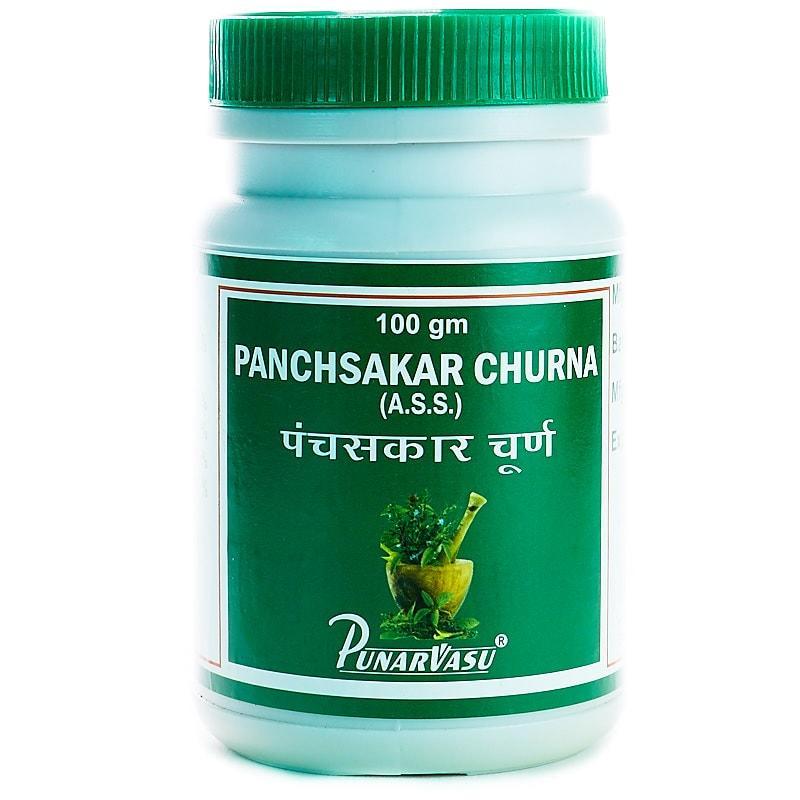 Панчсакар чурна / Panchsakar churna - поліпшення травлення, печія, здуття живота, кольки, запор - Пунарвасу - 100